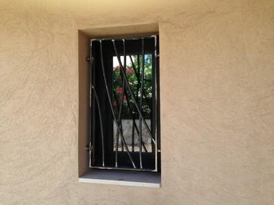 fenêtre métallique